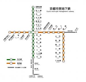 metro in kyoto